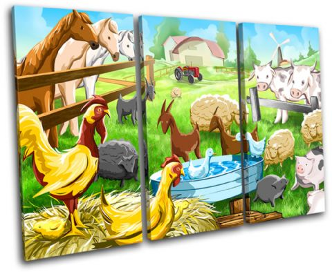 Farmyard Animals For Kids Room - 13-2208(00B)-TR32-LO